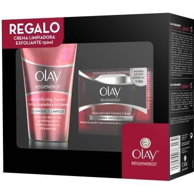 Olay Crema De Belleza Regenerist 3 Areas Más Crema Limpiadora