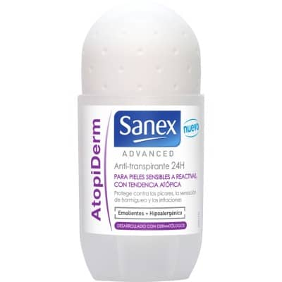 Sanex Desodorante roll-on 50 ml. Advanced AtopiDerm