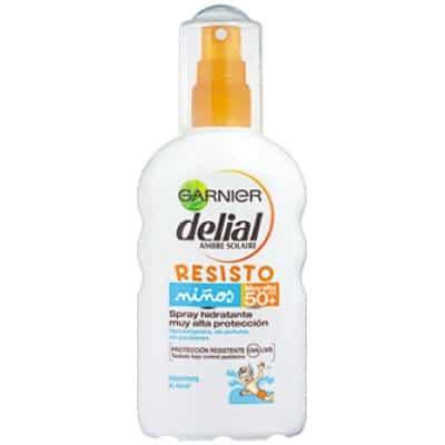 Delial Bronceador Resisto Spray Hidratante Niños SPF50+ 200 ml