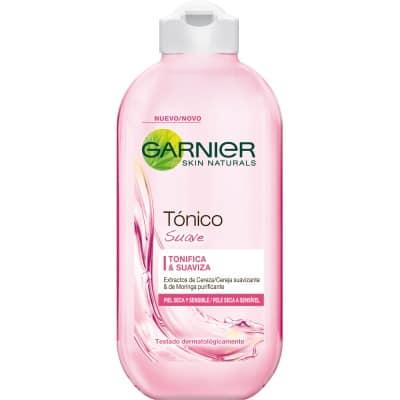 Garnier Tónico facial suave 200 ml.