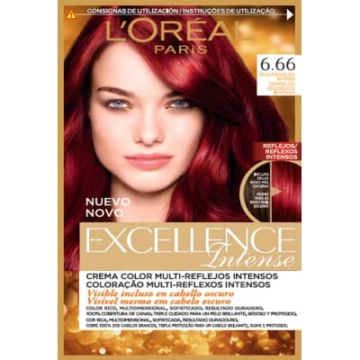 Excellence Tinte Capilar Intense 6.66 Rojo Escarlata Intenso