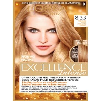 Excellence Tinte capilar Intense nº 8,33 Rubio claro dorado