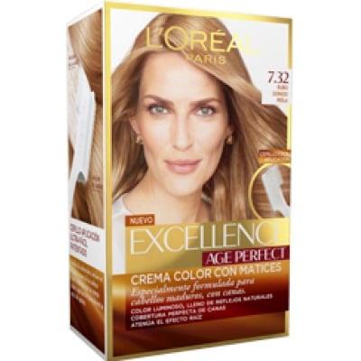 Excellence Tinte capilar Age Perfect nº 7,32 Rubio dorado perla
