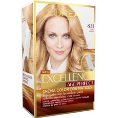 Excellence Tinte Capilar Age Perfect 8.31 Rubio Dorado