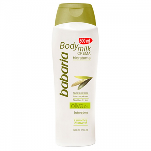 Babaria Body milk 400 ml. Aceite de oliva
