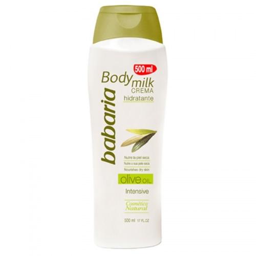 Babaria Body milk 400 ml. Aceite de oliva
