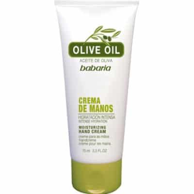 Babaria Crema de manos 75 ml. Aceite de oliva