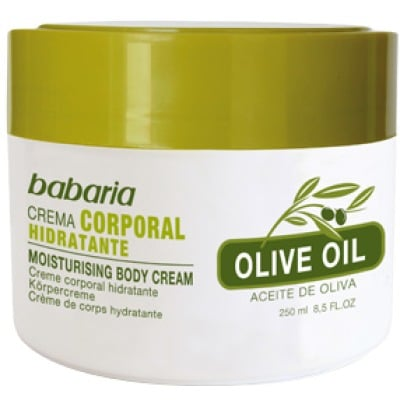 Babaria Crema corporal Aceite de Oliva 250 ml.