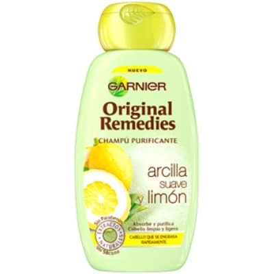Original Remedies Champú Original Remedies 250 ml. Arcilla y limón
