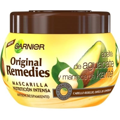 original remedies mascarilla original remedies 300 ml. aguacate y karité