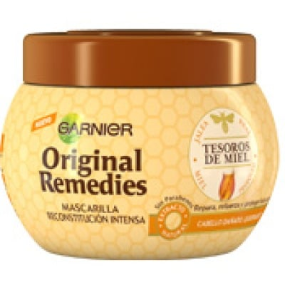 original remedies mascarilla original remedies 300 ml. tesoros de miel