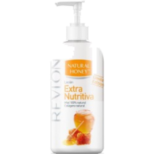 Natural Honey Loción corporal intensiva con dosificador