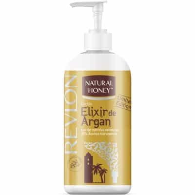 Natural Honey Loción Corporal Argán Con Dosificador