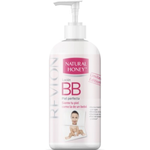 Natural Honey Loción corporal bb piel perfecta con dosificador