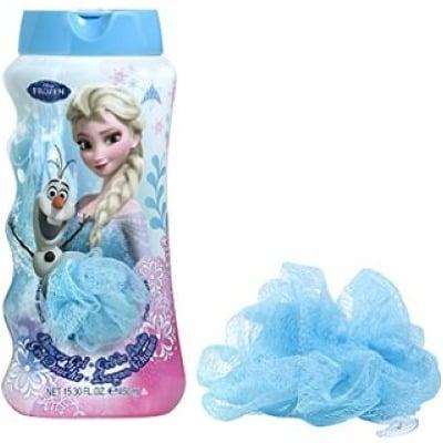 Frozen Pack Frozen Gel De Baño Más Esponja