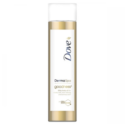 Dove Aceite corporal DermaSpa Goodness 150 ml.