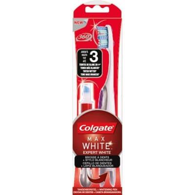 Colgate Lapiz Blanqueador Max White Expert + Cepillo