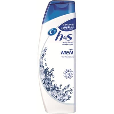 h & s champú 360 ml. for men