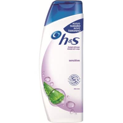 h & s champú 360 ml. sensitive