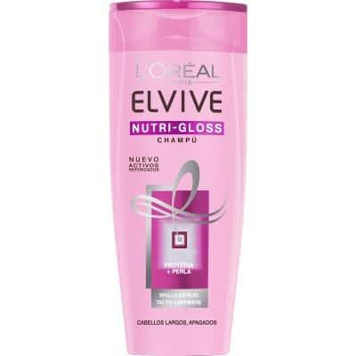 Elvive Champú 370 ml. Nutrigloss cabellos largos