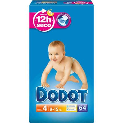 Dodot DODOT PAÑAL ETAPAS T4 9-15KG