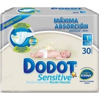 Dodot Dodot pañal sensitive recién nacido t1- 2-5 kg