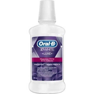 Oral-b Enjuague 3D White Luxe Brillo Seductor