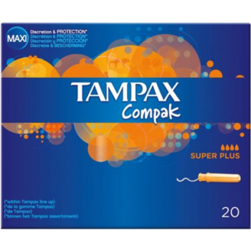 Tampax Tampón Superplus