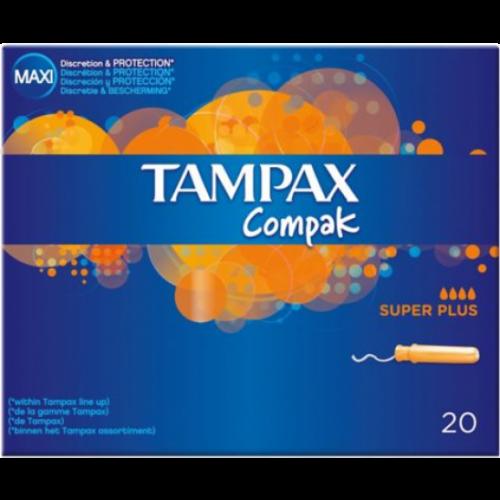 Tampax Tampon tampax compak superplus