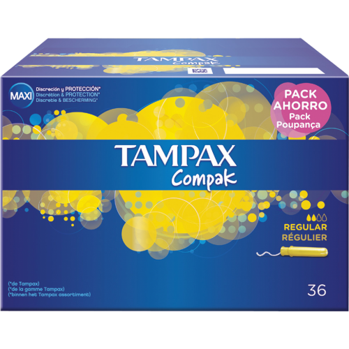 Tampax TAMPON TAMPAX COMPAK REGULAR