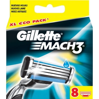 Gillette Recambio Mach3 Pack 8 Unidades