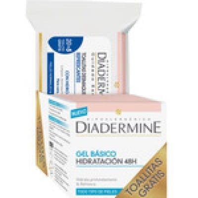 Diadermine Diadermine gel basico hidratante 48h + toallitas