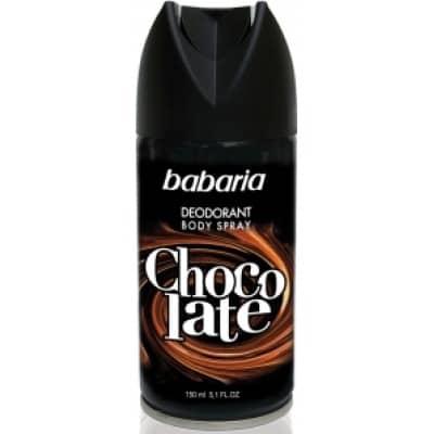 Babaria DESODORANTE BABARIA BODY SPRAY MEN CHOCOLATE