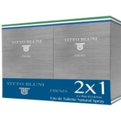titto bluni pack tito bluni essenza edt 2x1