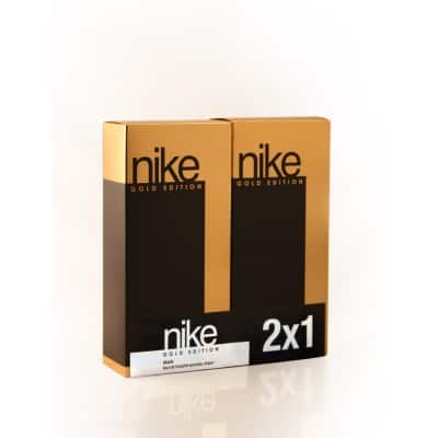 nike nike gold man edt pack 2x1