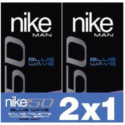 Nike NIKE BLUE WAVE EDT PACK 2x1