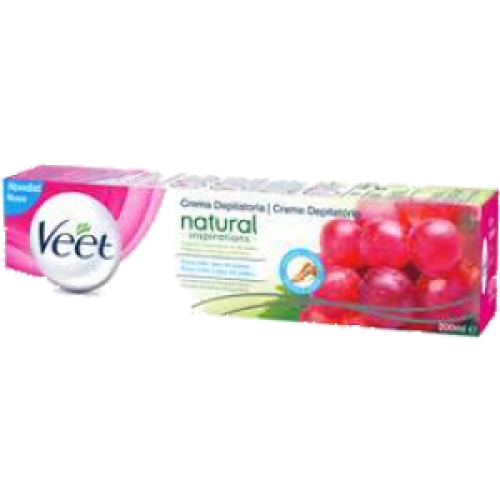Veet VEET CREMA DEPILATORIA NATURAL INSPIRATIONS