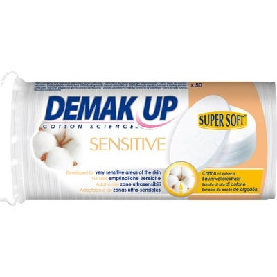 Demak´up ALGODON DESMAQUILLADOR SENSITIVE OVAL