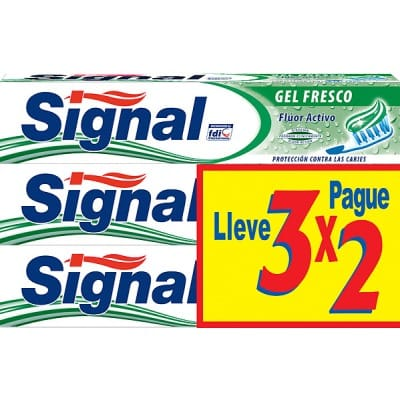 Signal Signal pack 3x2 pasta gel fresco