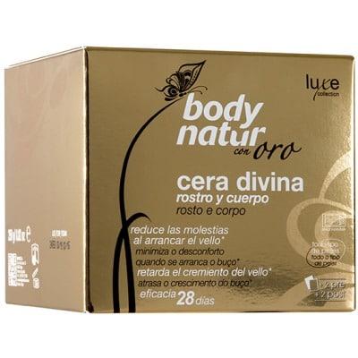 Body Natur Cera divina oro rostro y cuerpo