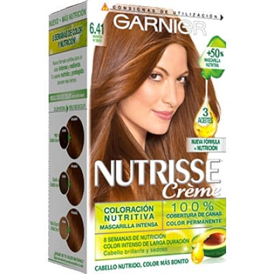 Nutrisse Tinte Capilar 6.41 Sweet Amber