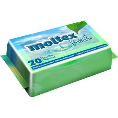 Moltex Toallitas moltex fresh 20 unidades