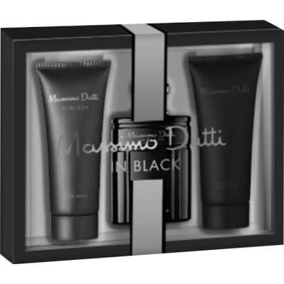 Massimo Dutti Estuche Hombre In Black