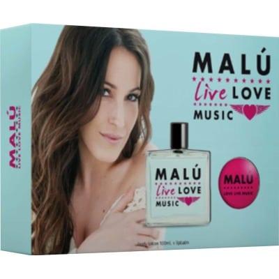 Malu ESTUCHE MALU LIVE LOVE MUSIC 2016
