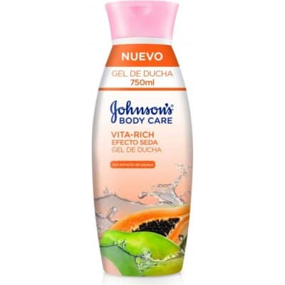 Johnson´s JOHNSON`S GEL PAPAYA VITAL RICH SEDA