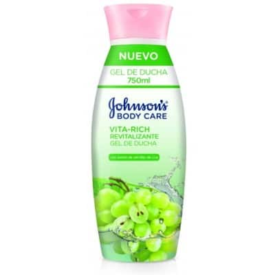Johnson´s Johnson`s gel uva vital rich revitalizante