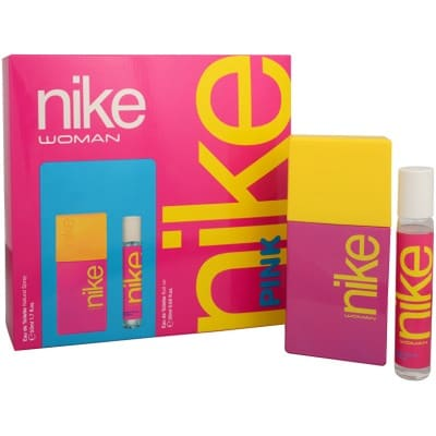 Nike Nike pink woman pack edt + rollon