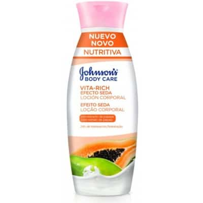 Johnson´s Johnson`s body lotion papaya vital rich seda