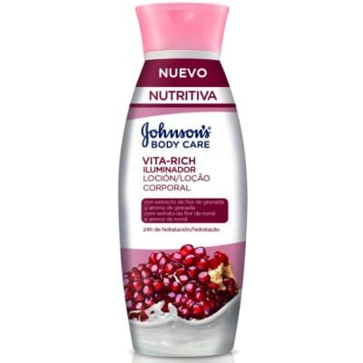 Johnson´s Johnson`s body lotion granada vital rich iluminador
