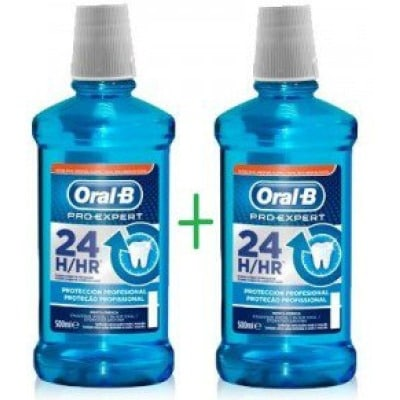 Oral-b Pack 2 X 1 Colutorio Protección Profesional